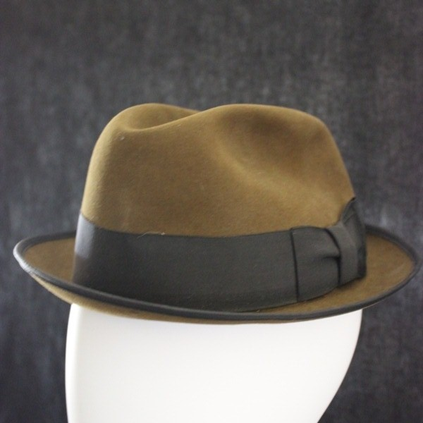 8d79fb63607b 44th Collectors Avenue - Chocolate brown felt royal Stetson Fedora hat