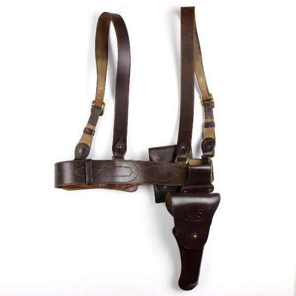 44th collectors avenue m1921 sam browne officer belt w