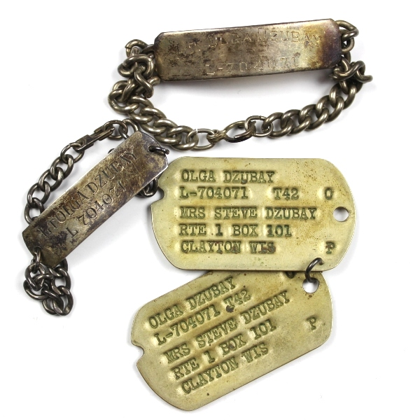 44th Collectors Avenue - WAC dog tags and identification ...