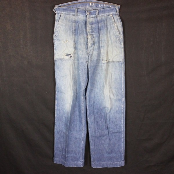 44th Collectors Avenue - US Navy Dungaree denim pair of pants - ID