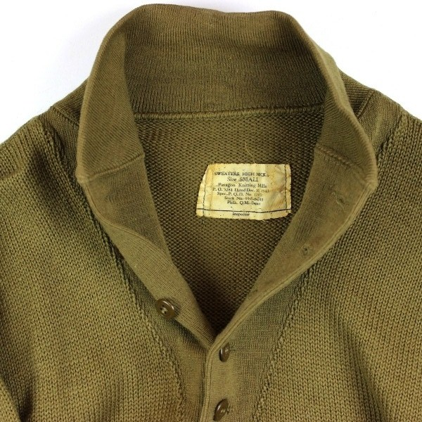 Sweater High Neck High Neck od Wool Knit Sweater
